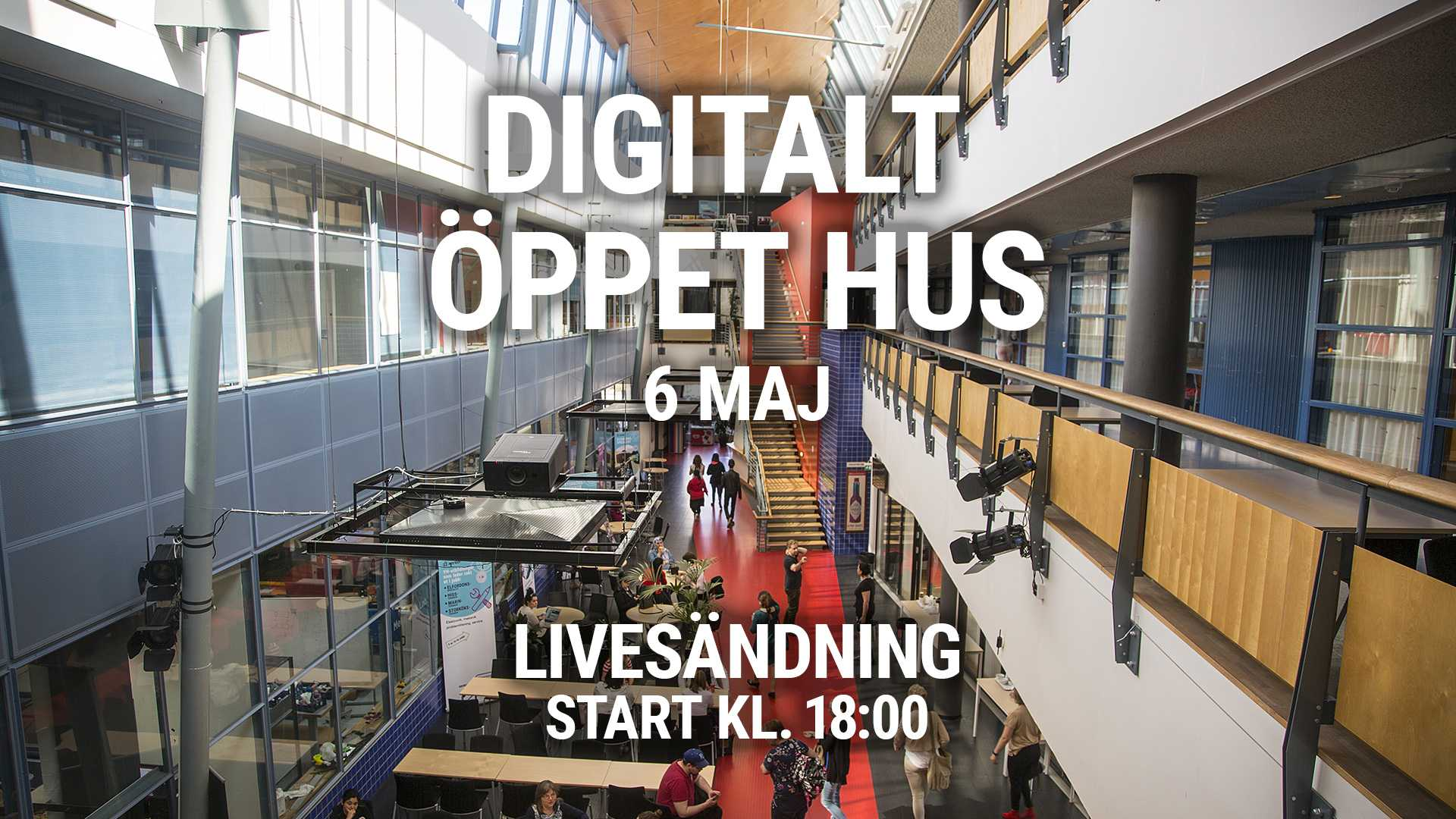 Digitalt Öppet Hus 6 maj på Xenter